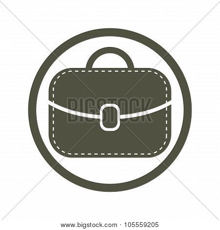 Bag Vector Icon, Woman Purse