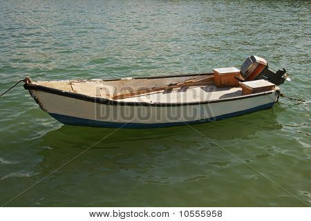 Skiff In Tel Aviv Harbour