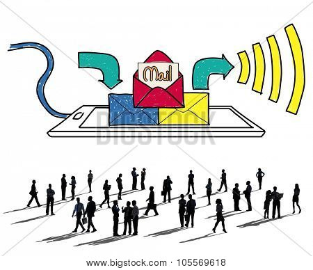 Mail Inbox Message Communication Technology Concept