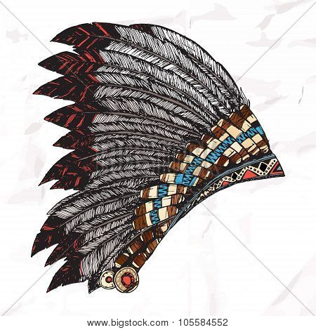 American Indian Headdress.