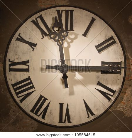 Old Large Clock Face