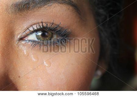 eye and tears
