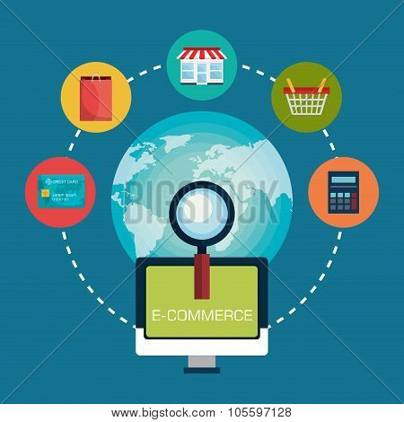 ecommerce,shopping and marketing design.