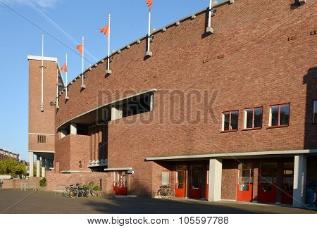 The Amsterdam stadium