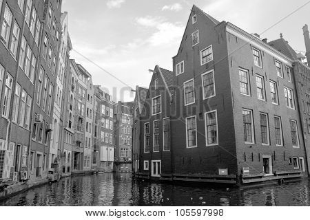 Typical canal Houses