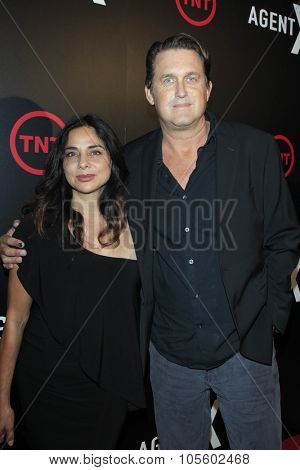 LOS ANGELES - OCT 20:  Geoffrey Blake, wife at the TNT's