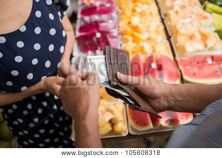 Paying For Fruits