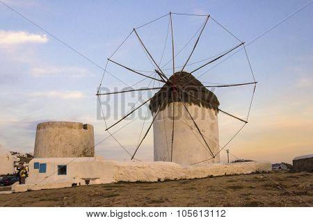 Mykonos Windmill, Chora, Greece