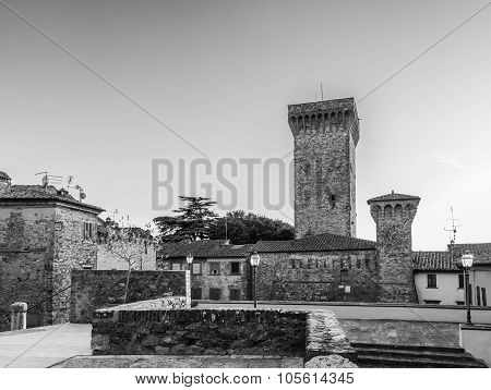 city of Lucignano in Tuscany