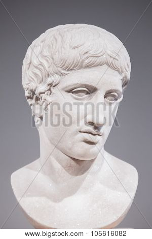 Antique Marble Sculpture In The Altes Museum, Berlin