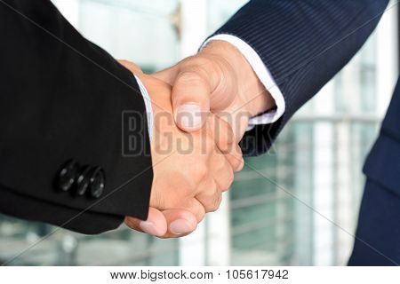 Handshake Of Businessmen