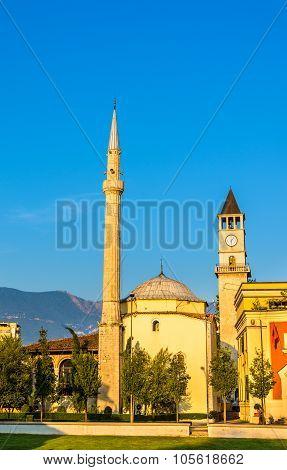 The Et'hem Bey Mosque In Tirana - Albania