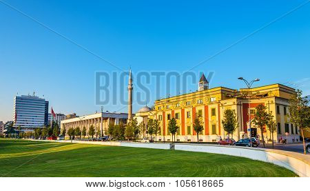 Municipality Of Tirana And Palace Of Culture - Albania