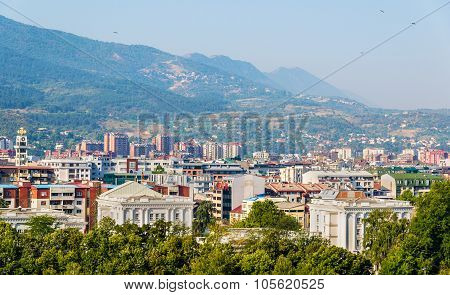 View Of The City Of Skopje - Macedonia