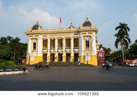 Hanoi Opera house in Hanoi, Vietnam