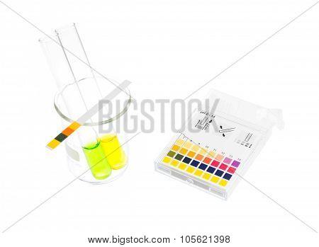 pH Paper Indicators And Tube