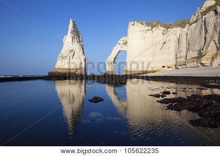 Etretat Aval Cliff