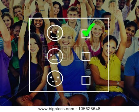Questionnaire Feedback Satisfaction Service Comment Concept