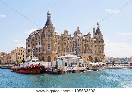 Historical Buildings Of Haydarpasa Railway Terminal, Symbol Of Istanbul