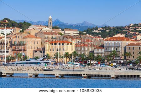 Port Of Propriano, South Of Corsica, France