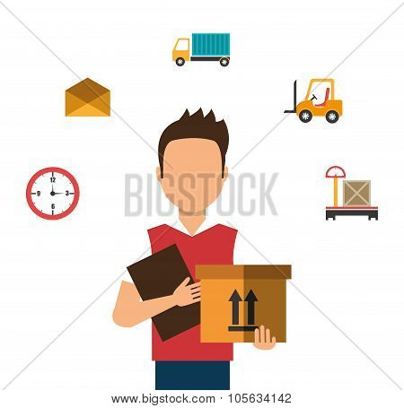 Delivery and logistics business