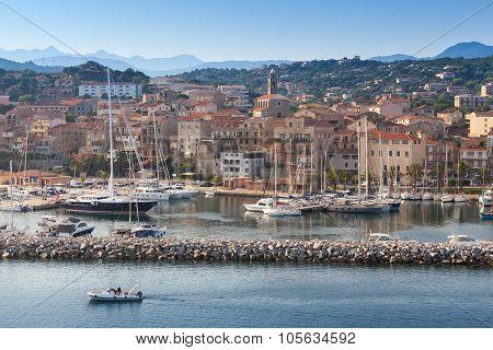 Port Of Propriano, South Region Of Corsica