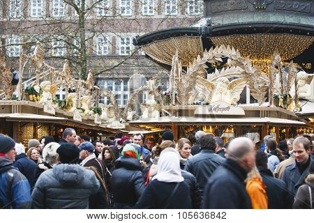 Duesseldorf, Germany - Christmas Market