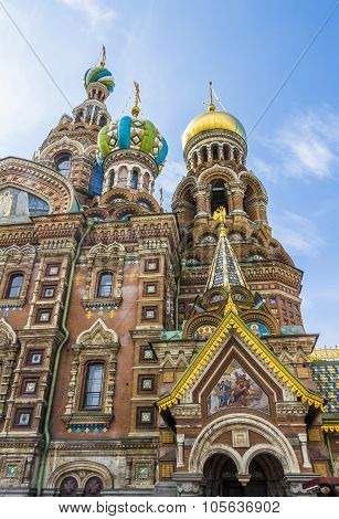 Church of the Savior on Spilled Blood (Cathedral of Resurrection).