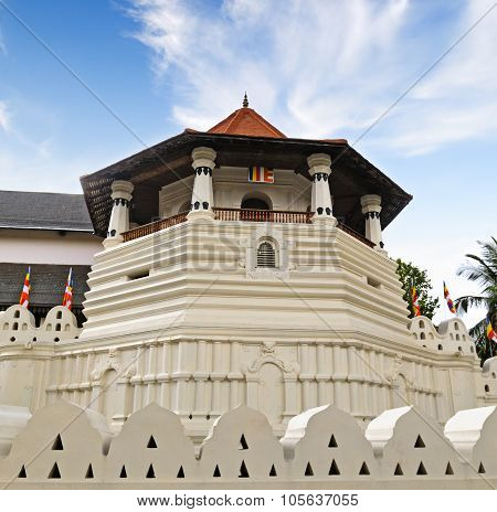 Buddhist Temple Of The Tooth Relic (sri Lanka, Kandy)