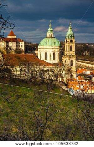 View Of St.nicholas Church-prague,czech Republic
