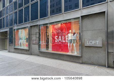 Loft Store, Ny