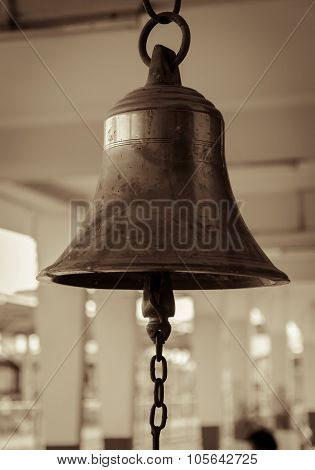 Bell In Train Station