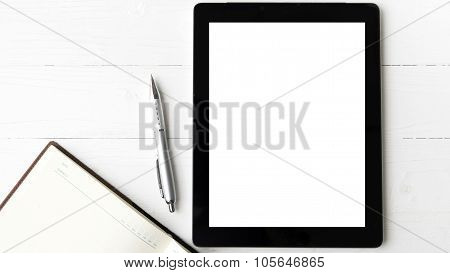 Tablet With Notebook