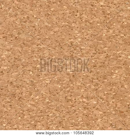Vector Illustration of Cork board Background