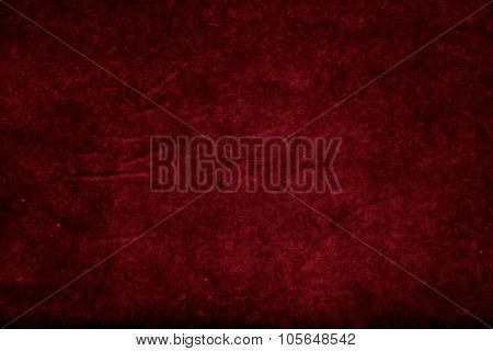 Photo of wet Vintage red abstract paper