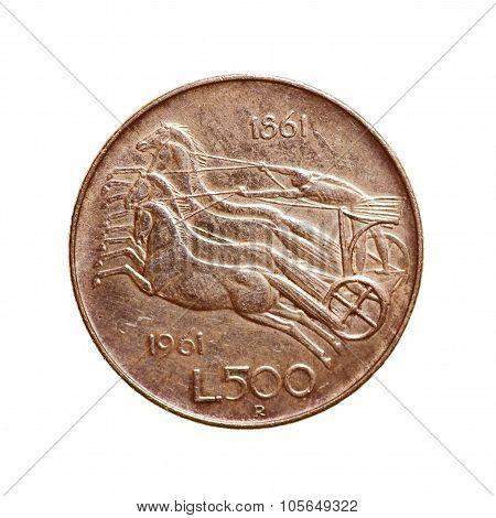 Retro Look Vintage Coin