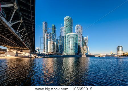 Moscow City.
