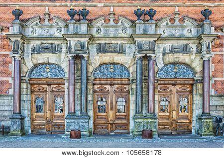 Helsingor Grand Station Entrance