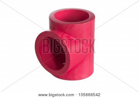 Red Drain Pipes From Pvc