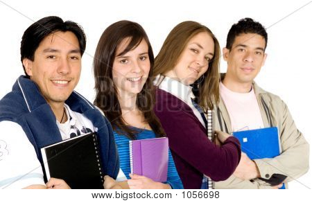 Young Students At University