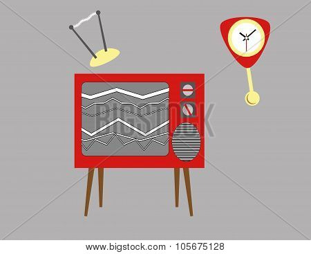 Broken Television Set