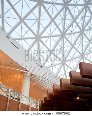 Glass Panel Roof