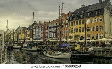 Copenhagen, Nyhavn harbour