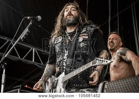 Killer Be Killed live at Soundwave in Brisbane 2015
