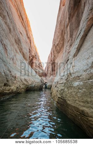Lake Powell Slot Canyon
