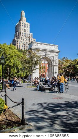Washington Square Garden Manhattan New York