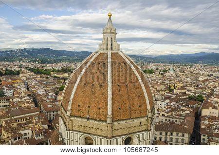 Santa Maria del Fiore cathedral in Florence, Dome.
