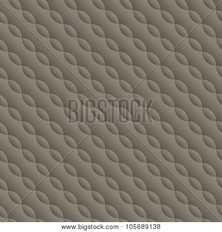 Curved Embossed Twisted Seamless Pattern