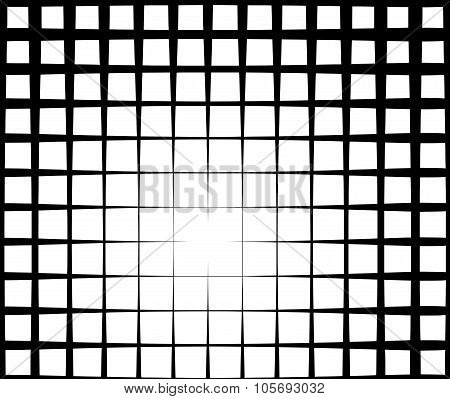 Grid Light Effect Background In Black And White