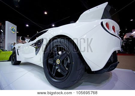 Bangkok - May 20 : Lotus Exige Cup 260 Display At Impact Muangthong Thani Exhibitions Hall Event On